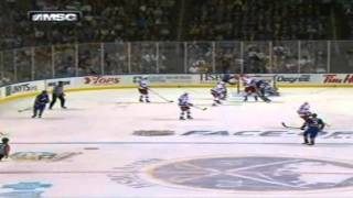Jordan Leopold's First Goal As A Sabre