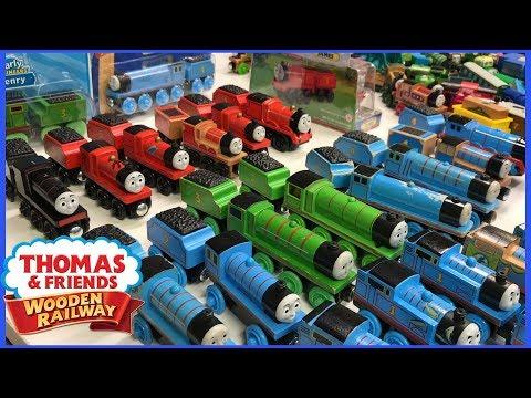 Thomas Wooden Railway Collection - Edward, Henry, Gordon, James