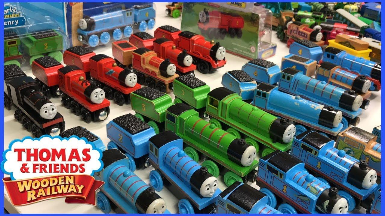 Amazing Thomas Wooden Railway Collection Edward Henry Gordon James