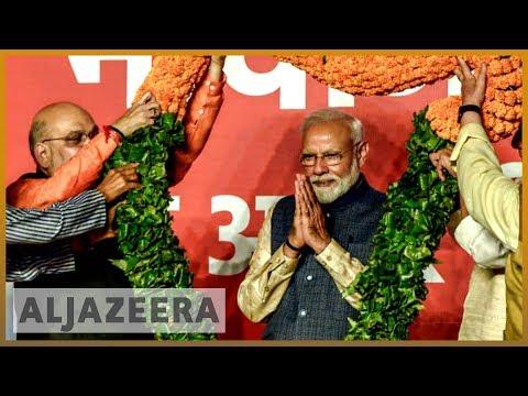 🇮🇳 India election: Narendra Modi to win second term as PM   Al Jazeera English