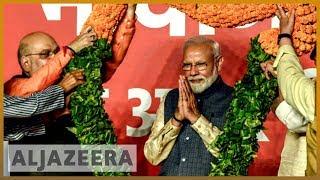 india election narendra modi to win second term as pm al jazeera english