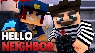 VERHAFTET vom FBI ?!😵 | Minecraft Hello Neighbor