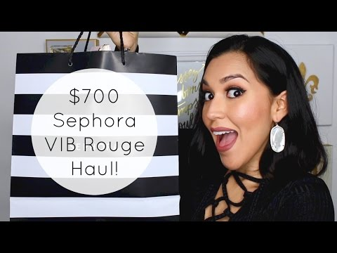 $700 Sephora VIB Rouge Haul 2017!