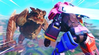 *NEW* ROBOT VS MONSTER EVENT AFTERMATH - Fortnite SEASON 9 LIVE EVENT/NO SWEAT GIVEAWAY!