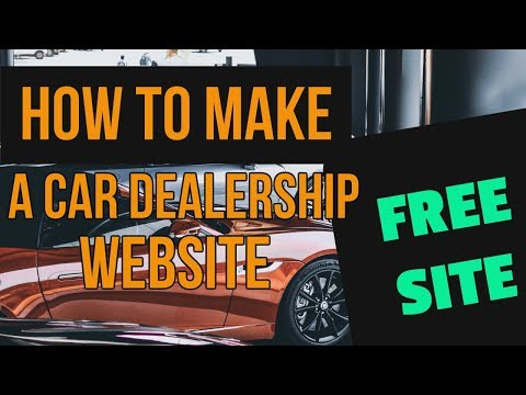 How To Make A Custom Car Dealership Website