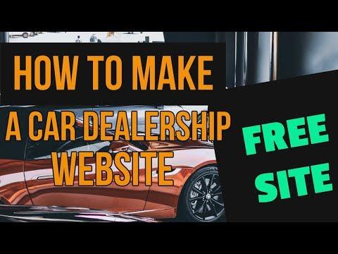 How To Make A Custom Car Dealership Website