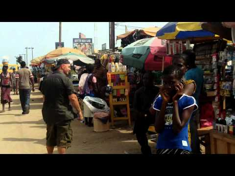 Market in Kasoa city -Business-Ghana-Africa