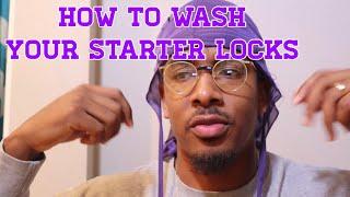 How To Wash Starter Locks