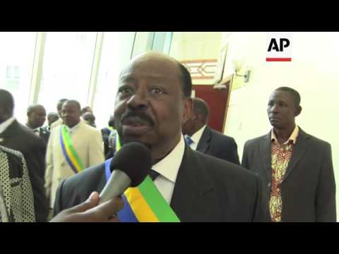 Vote dispute ongoing as Gabon parliament meets