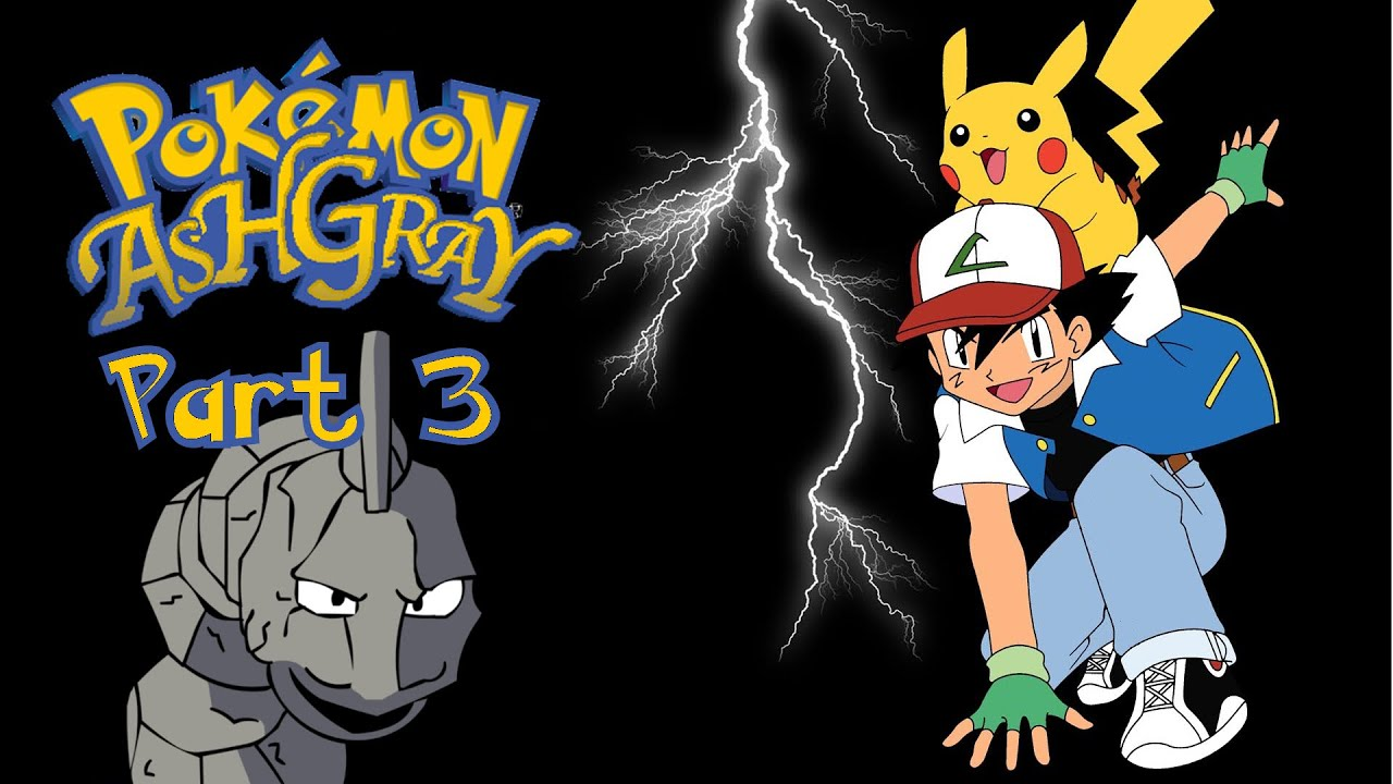 Let S Play Pok 233 Mon Ash Gray Part 3 Fighting Brock Youtube