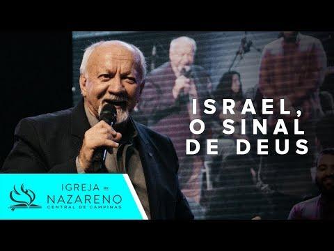 ISRAEL, O Sinal de Deus   Pr. Aguiar Valvassoura