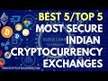 Top 5 Indian Cryptocurrency Exchanges