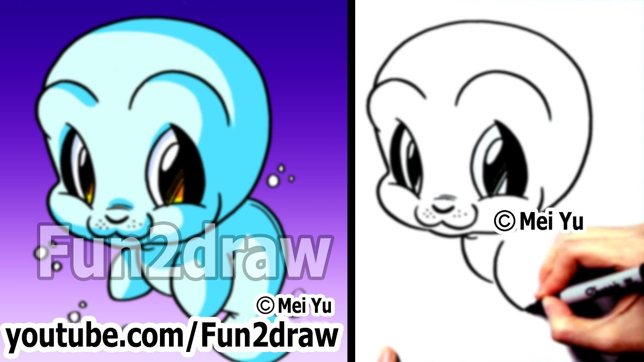 Cute animals drawing tutorial how to draw easy for Fun to draw cute animals
