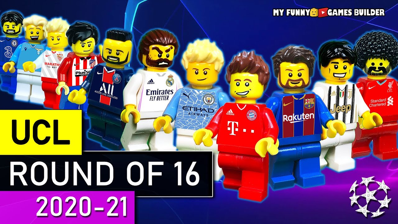 Download UEFA Champions League Round Of 16 • UCL 2020/21 in LEGO Football Film