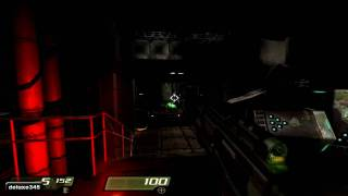 Quake 4 Gameplay - Ultra High - 8800GTX (PC HD)