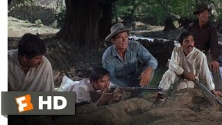 The Magnificent Seven (7/12) Movie CLIP - Squeeze the Trigger (1960) HD