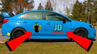 MY NEW JD ROBLOX CAR! | JD Roblox Show