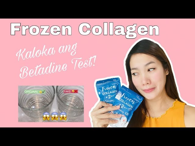 Updated Frozen Collagen Full Review - Fake and Original