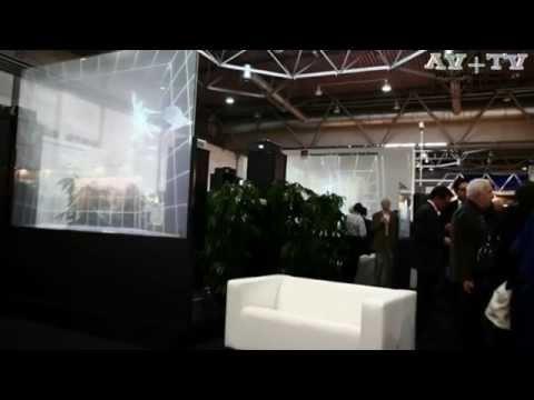 Голографическая прозрачная проекционная пленка и интерактивная сенсорная пленкаиз YouTube · Длительность: 2 мин47 с  · Просмотров: 770 · отправлено: 20.09.2014 · кем отправлено: AVplusTV .ru
