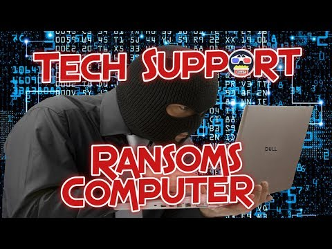 Microsoft Tech Support Ransom My Computer !!!!