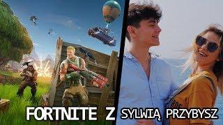 WYBUCHA KOSTKA! | Fortnite z Sylwia Przybysz! ???????????? - Na żywo
