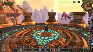 """Как начать сценарий """"Немного терпения"""" в БФА / World of Warcraft"""