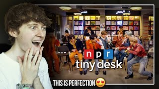 THIS IS PERFECTION! (BTS: Tiny Desk Home Concert   Reaction/Review)