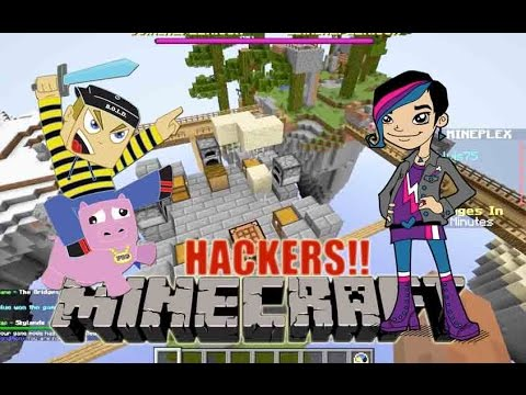 Minecraft - HACKER GAMES and THE BRIDGES with RadioJH Audrey Games