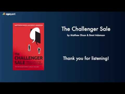 Book Review of The Challenger Sale by Dominic - Berlin Startup Sales Meetup - Sept 7, 2016