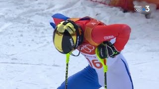 JO 2018 : Ski alpin - Slalom Hommes : Victor Muffat-Jeandet termine 6e