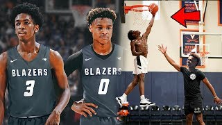 Bronny James and Zaire Wade Already THROWING LOBS To Each Other At Sierra Canyon!! Just Like Lebron