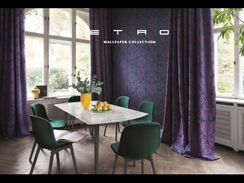 Rasch - ETRO Wallpaper Collection Trailer 2017