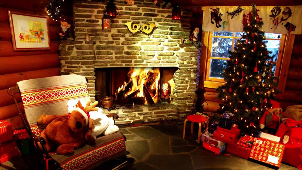 ♛BEST FIREPLACE !!! 1 Hour FULLHD Christmas home - YouTube