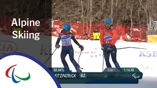 Giant Slalom Run 1 | Alpine Skiing | PyeongChang2018 Paralympic Winter Games