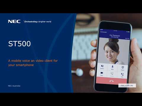 NEC ST500 Mobile Video Client