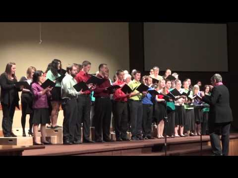 Centralia College Choir - America from West Side Story