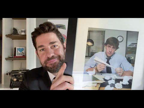 John Krasinski interviews Steve Carell on Some Good News [FU