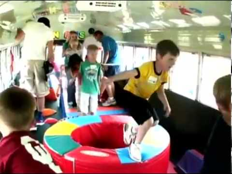 Fun Bus Fitness Fun For Kids Youtube