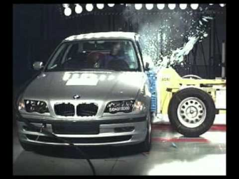 bmw 3 series euro ncap crash test youtube. Black Bedroom Furniture Sets. Home Design Ideas