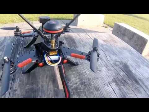 Walkera Runner 250 Pro - Test FPV Flight With Goggles (beginner)