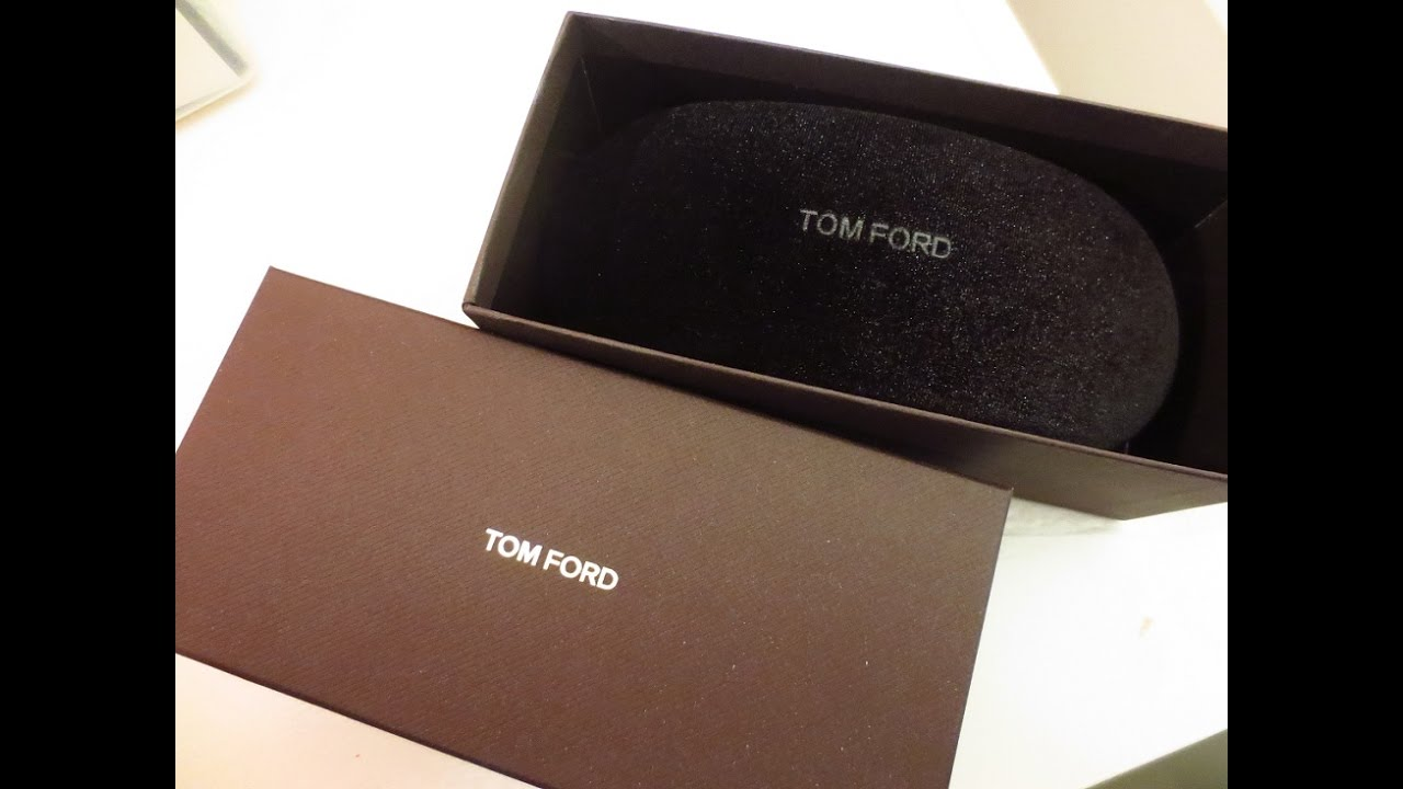 5f0dab6dc6 UNBOXING  TOM FORD SUNGLASSES - YouTube