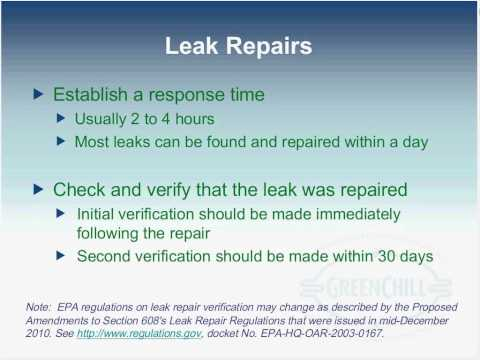 Commercial Refrigeration Leak Prevention and Repair