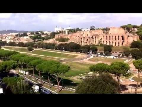 Roma Bellissima Vista Dal Terrazzo Fao Youtube