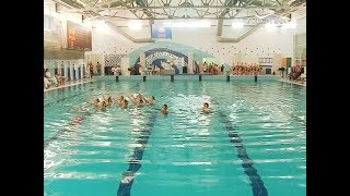 Первенство ПФО по синхронному плаванию проходит в Самаре