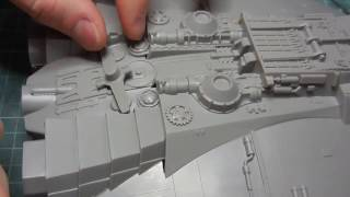 Revell Cylon Raider plamo build 2 thumbnail