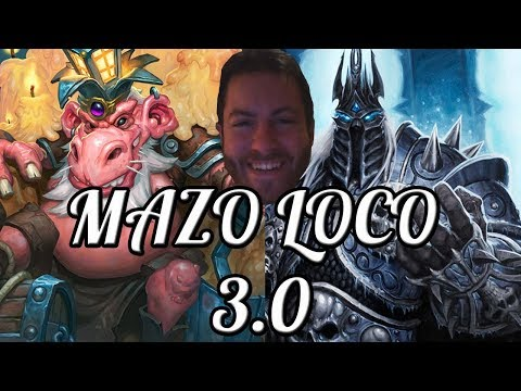 EL MAZO LOCO 3.0 | KÓBOLDS & CATACUMBAS | Hearthstone | Just for Fun (Salvaje)