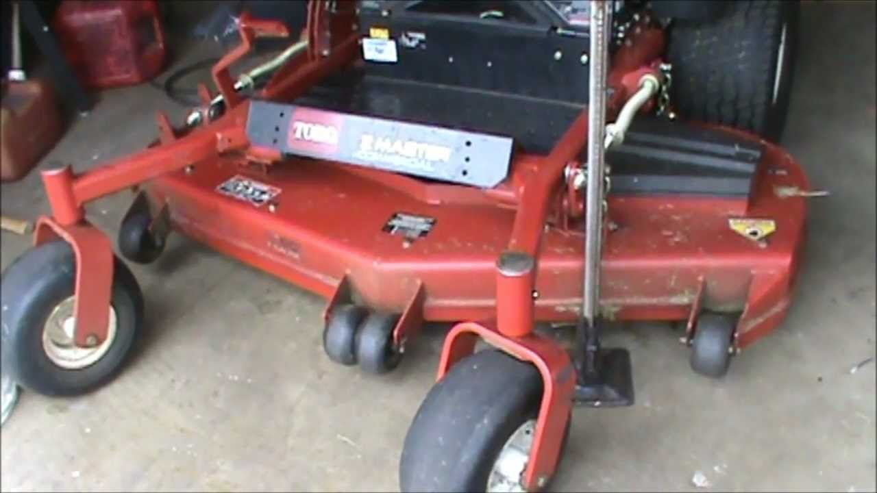 small resolution of how to take blades off zero turn mowers