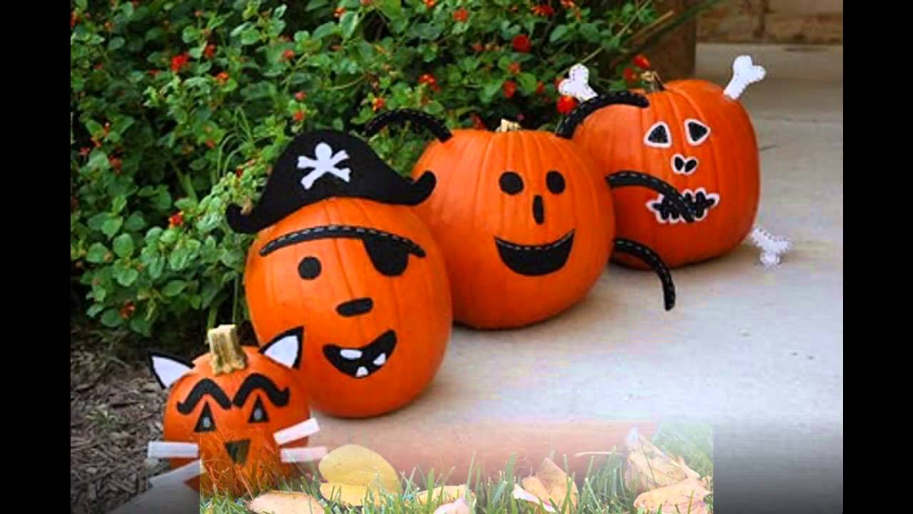 Creative Pumpkin Decorating Ideas For Kids Youtube