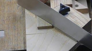 Make a Adjustable miter box(perfect any angle cut)