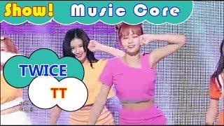 [HOT] TWICE - TT, 트와이스 - 티티 Show Music core 20161112
